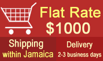 $1000 Flat Shipping Rate in Jamaica