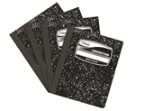 Mead Black Marble Composition Notebook 200 Pages# 09937 Pack of 4