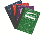 Mead Assorted Coloured Composition Notebook 100ct #09949 Pack of 4