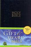 NIV Gift & Award Bible, Black, Leather-Look Imitation Leather