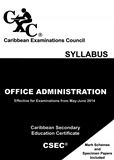 Caribbean Secondary Education Certificate Syllabus Office Administrati