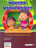 Modern Mathematics A Course for Jamaica Primary School Grade 1