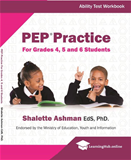 PEP Practice Ability Test For Grade 4 5 and 6 Students