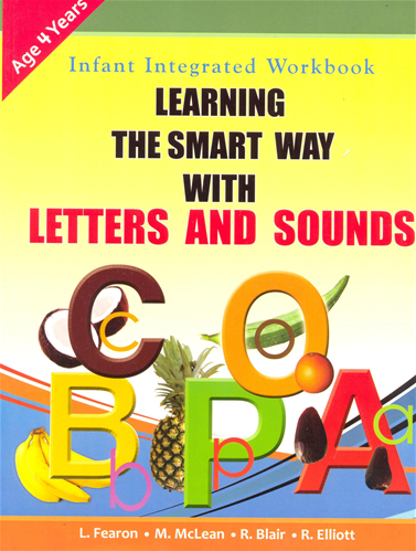 infant integrated workbook learning the smart way with letters and sounds year 4